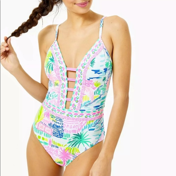 NWT Lilly Pulitzer Bathing suit 8